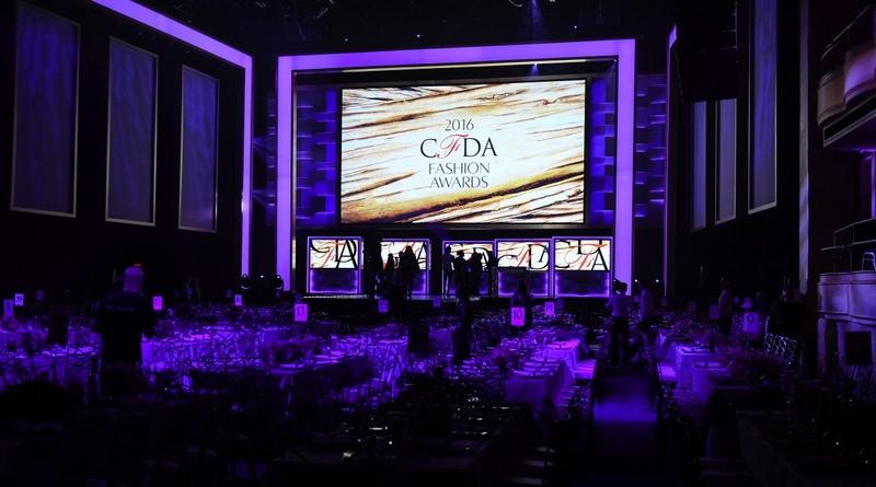 2016 CFDA Fashion Awards preparation