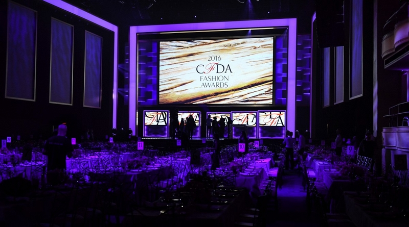 2016 CFDA Fashion Awards preparation