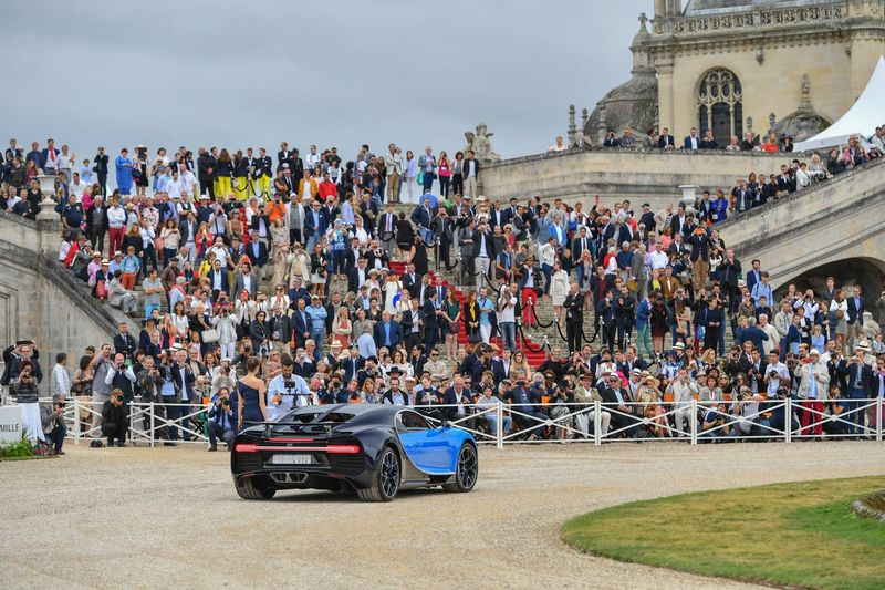 2016 Chantilly Arts & Elégance Richard Mille at Chantilly, Oise, France-Concept-Car  Bugatti Chiron