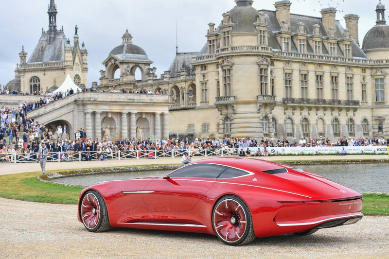 2016 Chantilly Arts & Elégance Richard Mille at Chantilly, Oise, France-Concept-Car  Vision Mercedes-Maybach 6