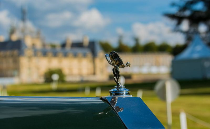 2016 Chantilly Arts & Elégance at Chantilly, Oise, France-Concept-Car Aston Martin Vanquish Zagato Coupé