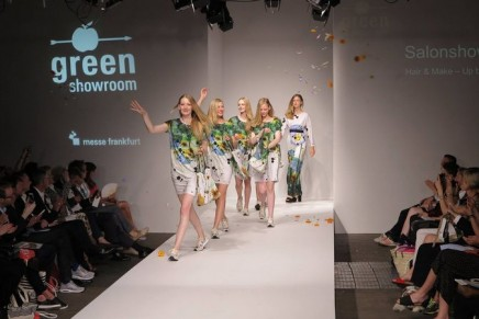Sustainable fashion: Camille Boillet, LVMH Young Talent prize winner, at 2016 Green Showroom Berlin