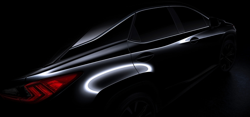 2016 Lexus RX  to Make Its Global Debut at 2015 NYIAS