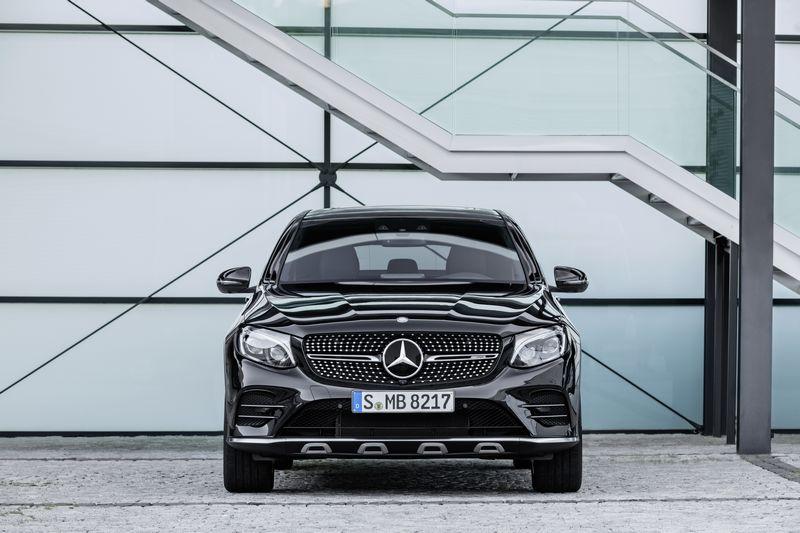 Mercedes-AMG GLC 43 Coupé; 2016