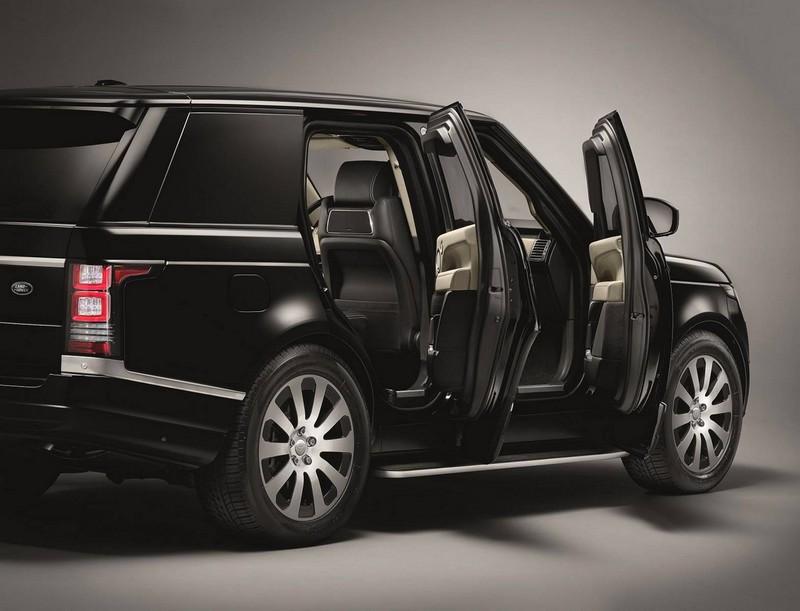 2016 Range Rover Sentinel--