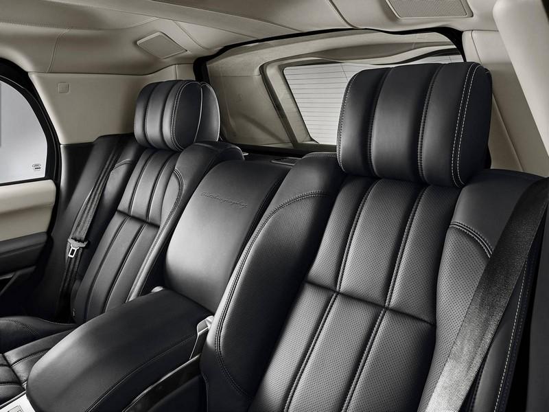 2016 Range Rover Sentinel model