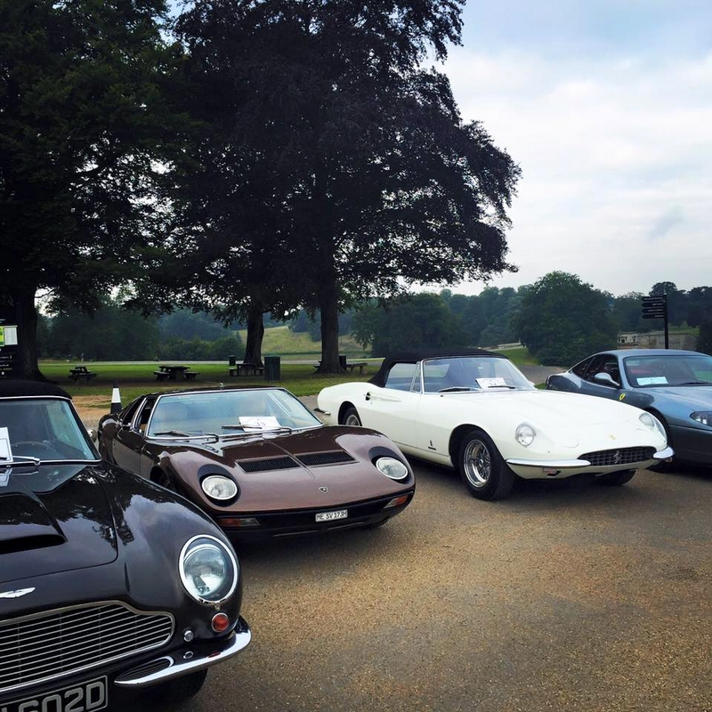 2016  Salon Prive Tour UK -