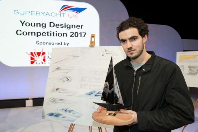 Superyacht UK Young Designer Competition 2017. The winners announced at London Boat Show