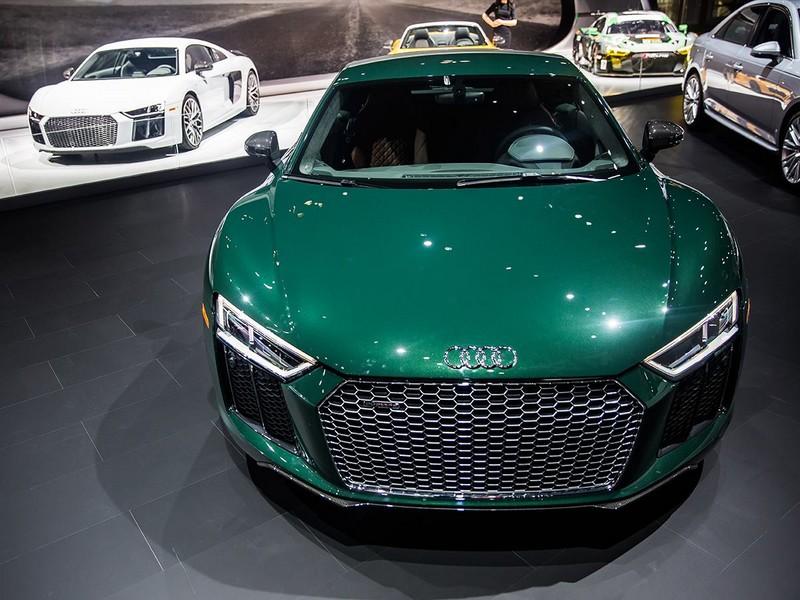 2017 Audi R8 V10 plus-