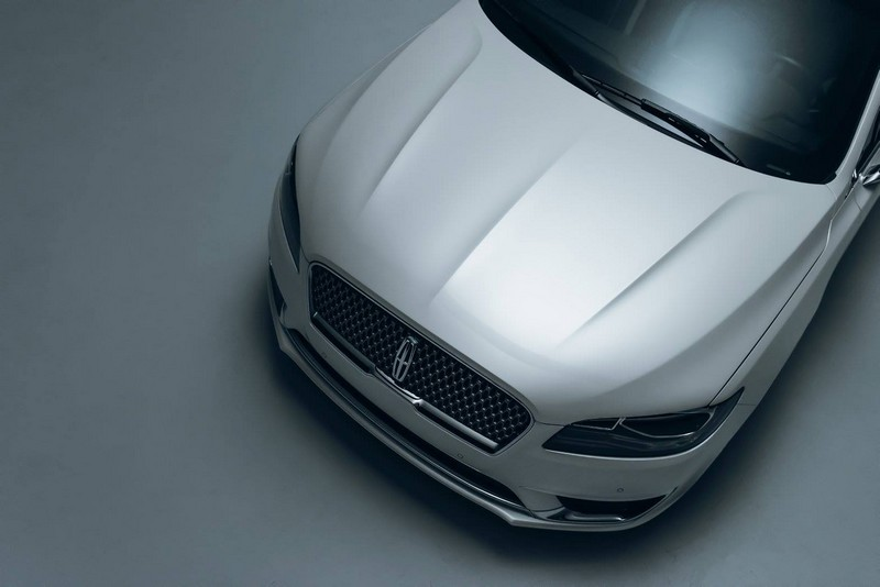 2017 Lincoln MKZ - aerial