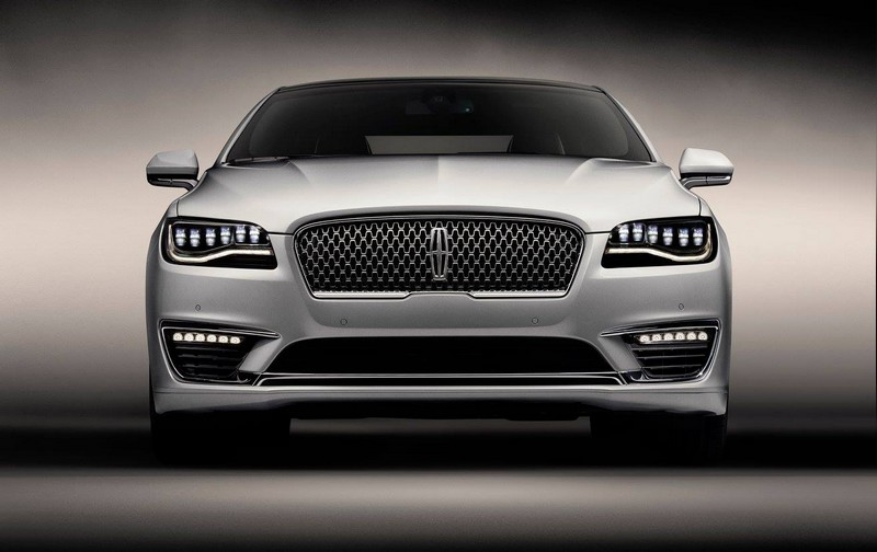 2017 Lincoln MKZ - powerful front