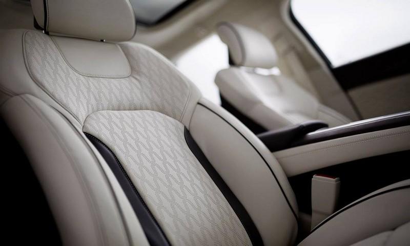 2017 Lincoln MKZ - the interior-