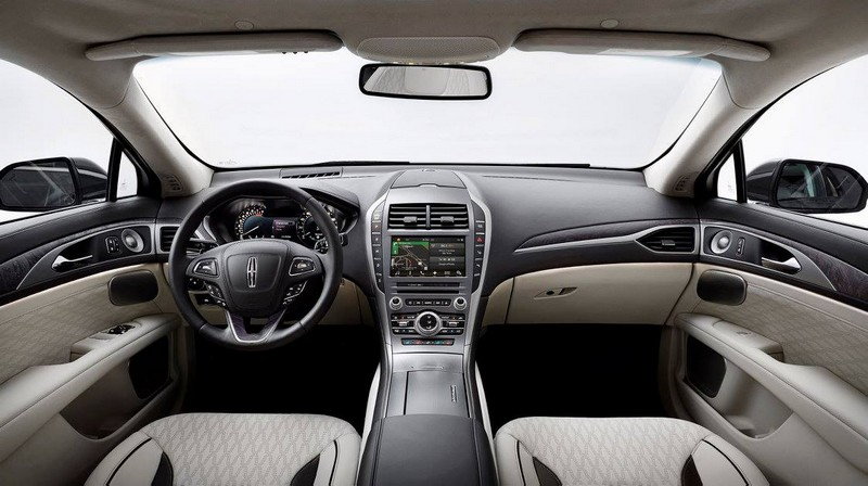 2017 Lincoln MKZ - the interior