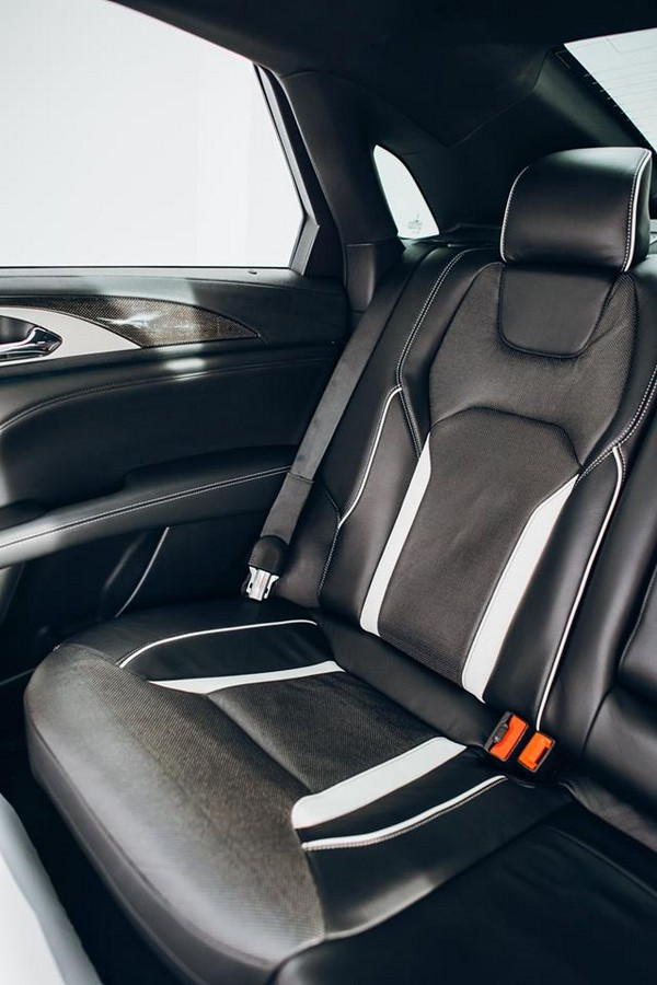 2017 Lincoln MKZ -  the seats