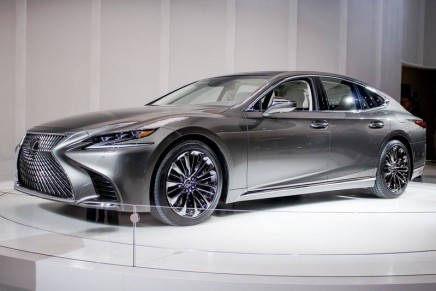 2018 Lexus LS. Japanese hospitality applied to a luxury automobile