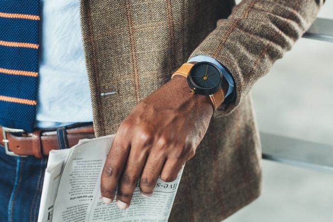 22 design studios concrete watch - 4th Dimension Watch--