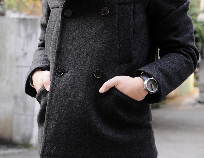 22 design studios concrete watch - 4th Dimension Watch-midnight model-