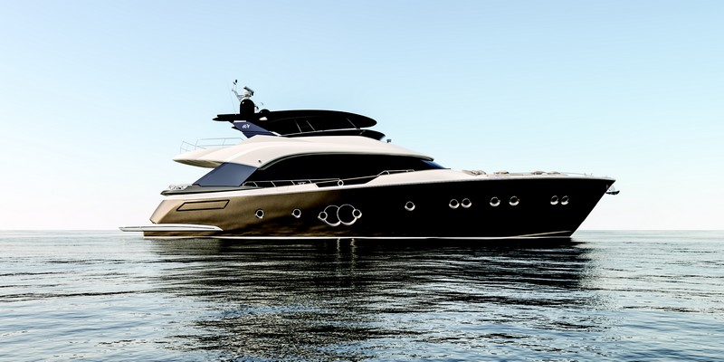 24 meters MCY 80 exterior profile