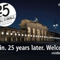 Berlin Commemorates the 25th Anniversary of the Fall of the Berlin Wall from 7-9 November