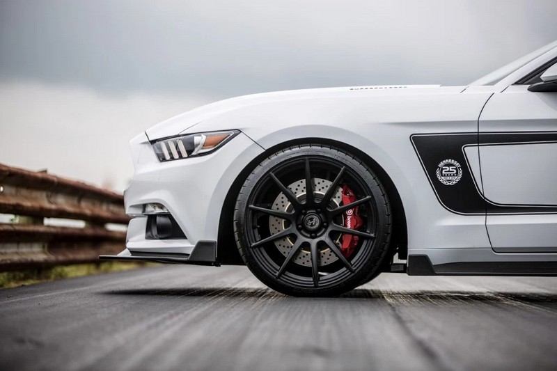 2luxury2 25th Anniversary Hennessey Mustang-