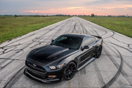 The 25th Anniversary Hennessey Mustang is exceedingly rare and powerful
