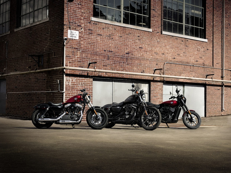 3 new Dark Custom Harleys for under $12,000