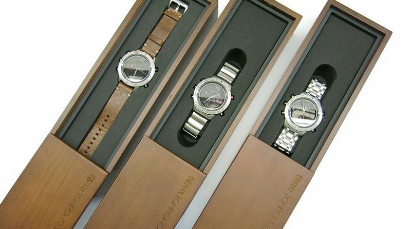 3 styles fenix chronos watches