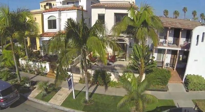 305 16th Street, Huntington Beach, CA-aerial view