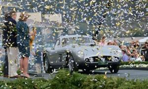 375 MM Scaglietti Coupé wins Pebble Beach concours d'elegance