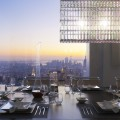 432 Park Avenue tower - Dining room window