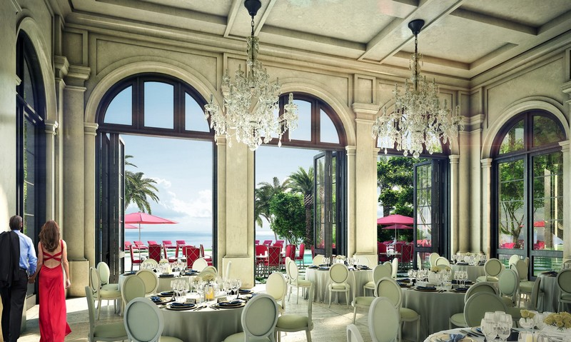 5-star Restaurant at The Estates at Acqualina Miami
