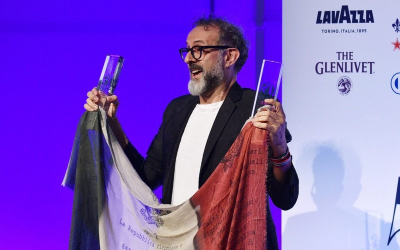 50 best restaurants - massimo bottura is on the top of the gourmet world-