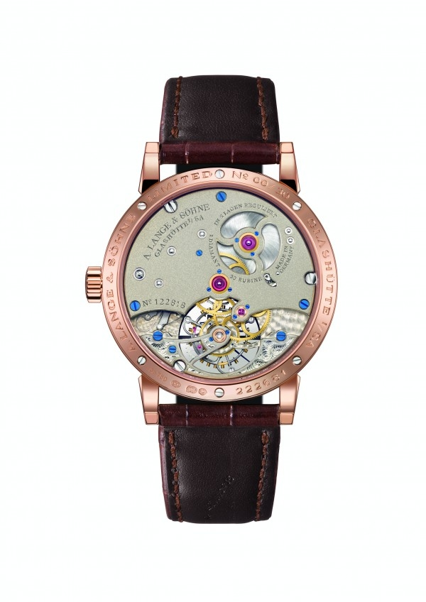 5th Handwerkskunst edition A. Lange & Söhne 1815 Tourbillon -