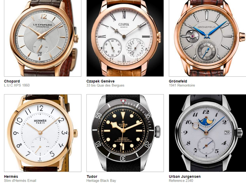 72 luxury timepieces pre-selected for Grand Prix d'Horlogerie de Geneve 2016 - GPHG-mens