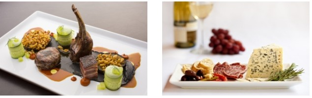 a-christmas-new-years-concert-on-an-airbus-acj319-private-jet-to-vienna-the-menu