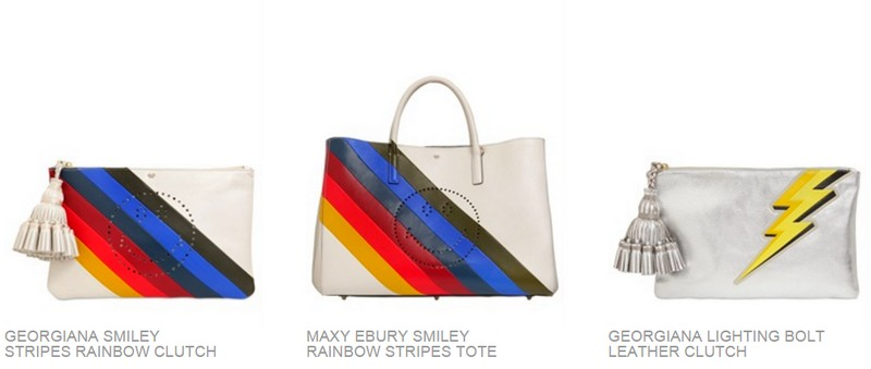 A NEW LIMITED EDITION COLLECTION BY ANYA HINDMARCH 2015 -