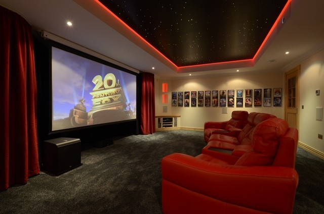 A star ceiling in your home cinema--