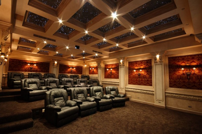 A star ceiling in your home cinema