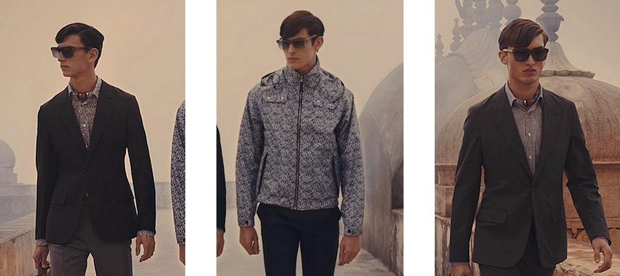 A walk through Jaipur with Louis Vuitton - 2015 looks menswear-