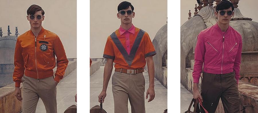 A walk through Jaipur with Louis Vuitton - 2015 looks menswear--