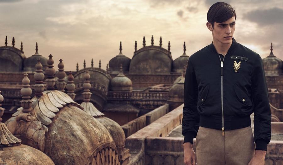 A walk through Jaipur with Louis Vuitton - 2015 looks menswear---
