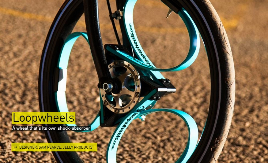 A wheel that's its own shock-absorber- The Designs of the Year 2015 nominees @ Design Museum London