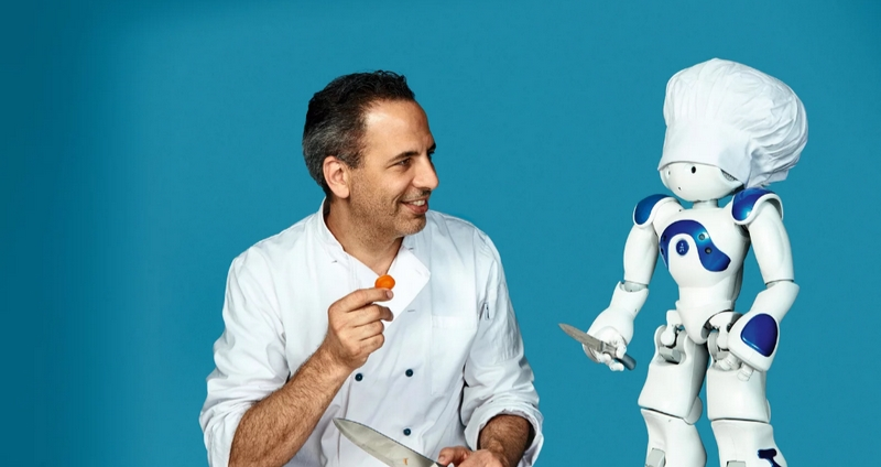AI chef watson versus real chef