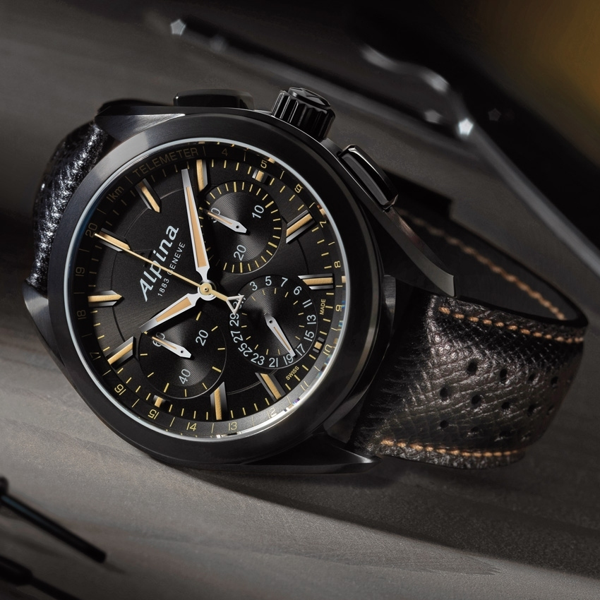ALPINA Alpiner 4 Manufacture Flyback Chronograph