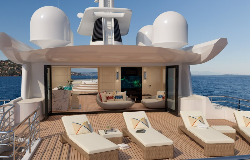 AMELS 188 -57.70 meters yacht design-