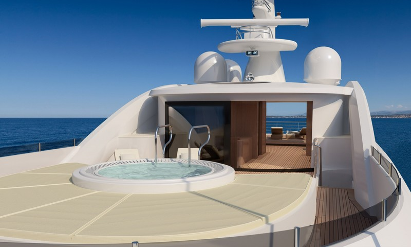 AMELS 188 -57.70 meters yacht design-the pool