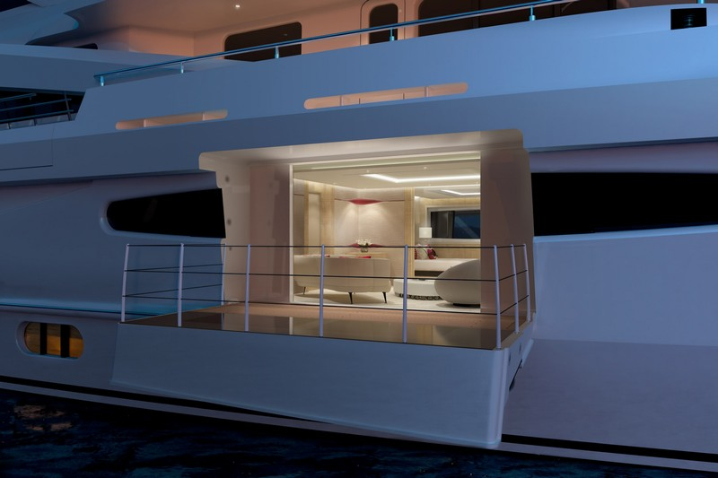 AMELS 188 -57.70 meters yacht design