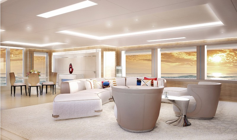 AMELS 188 -57.70 meters yacht interior