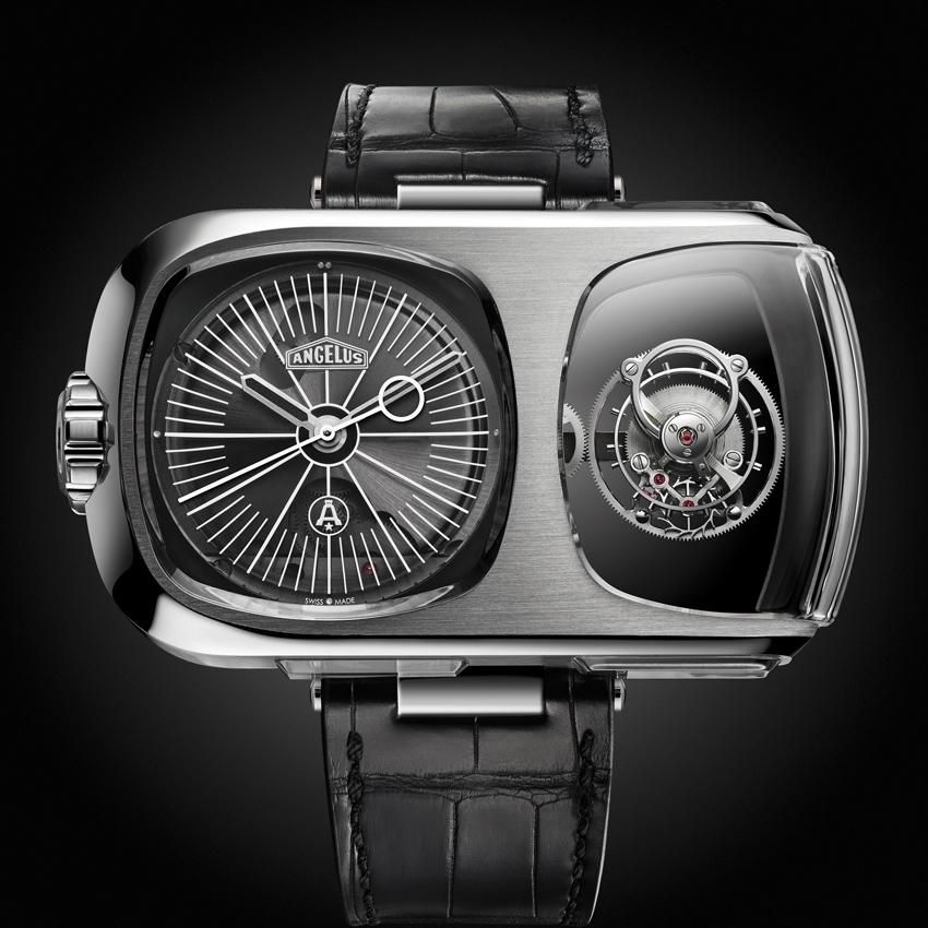 ANGELUS U10 Tourbillon Lumière avant-garde wristwatch-