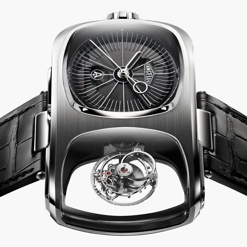 ANGELUS U10 Tourbillon Lumière avant-garde wristwatch-2016 model - baselworld 2016